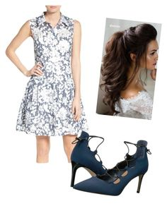 """""""Mattie elegant"""" by sophiec587 on Polyvore featuring Betsey Johnson and Tahari"""