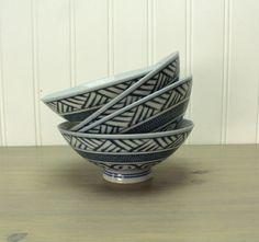 Vintage Japanese Rice Bowls
