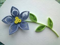 Quilling Flowers Tutorial: make a beautiful Quilling flower. Paper art Q...