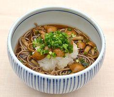 ナメコ蕎麦 Namekosoba.