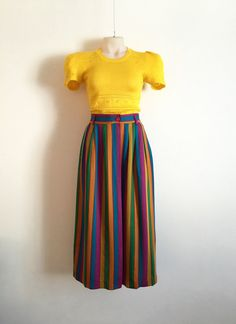 KENZO Vintage 1970s 'KENZO' vertical striped by TheCrownStProject