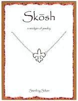 Skosh Fleur De Lis necklace