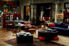 """The set of Will's apartment, from """"Will & Grace"""" (NBC)"""