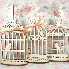 Vintage Birdcage Wedding Table Numbers