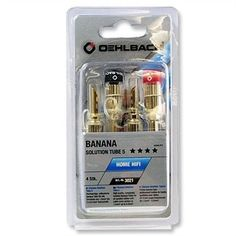 OEHLBACH SET 4 BANANE GOLD PER CAVI FINO A 6 mm NUOVO SIGILLATO in offerta al miglior prezzo, confronta, sconti, opinioni, recensioni. Annunci di vendita online.