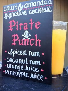 Signature Drink of The Pirate House on 20 E. Broad Savannah