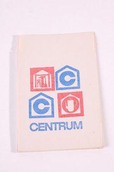 """DDR Museum - Museum: Objektdatenbank - Papiertütchen """"CENTRUM""""    Copyright: DDR Museum, Berlin. Eine kommerzielle Nutzung des Bildes ist nicht erlaubt, but feel free to repin it!"""