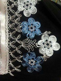 Havlu Needle Tatting, Needle Lace, Lace Making, Flower Making, Muslim Prayer Mat, Crochet Unique, Point Lace, All Craft, Irish Lace