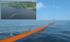 Giant floating dam that promises to rid the oceans of plastic gets its first trial on open water: Revolutionary 328ft barrier will be installed in the North Sea next year   Read more: http://www.dailymail.co.uk/sciencetech/article-3379865/Giant-floating-dam-traps-plastic-waste-oceans-tested-year-Trial-328ft-barrier-place-North-Sea.html#ixzz3vw0FfoOj  Follow us: @MailOnline on Twitter | DailyMail on Facebook