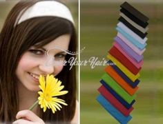 I did a review for CoverYourHair.com - I love these hairbands!