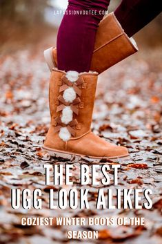 17 Best Ugg Look Alikes: Splurge vs Save on Ugg Alternatives in 2020 Black Fashion Bloggers, Black Women Fashion, Fashion Fashion, Runway Fashion, Fashion Trends, Uggs For Cheap, Ugg Boots Cheap, Alaska Fashion, Classic Ugg Boots