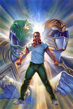 Green and White Ranger