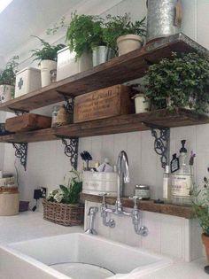 French Country Style Bathroom Design Ideas - Best Home Design Ideas Country Kitchen Farmhouse, Country Kitchen Designs, Country Dining Rooms, French Country Kitchens, Rustic Kitchen Decor, Country Furniture, Kitchen Ideas, Farmhouse Design, French Country Bathroom Ideas