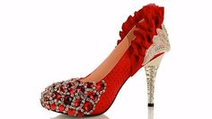 Awesome Red High Heel Shoes & Pumps Boots for Girls and Cheap High Heels...