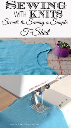 Sewing a Simple T-shirt with The Seasoned Homemaker - Sewtorial