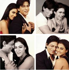 Sharukh Khan and Kajol (:. One of the best Bollywood couples