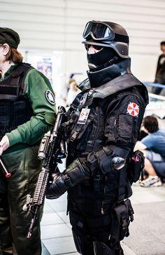 Resident Evil-Umbrella Corporation Cosplay