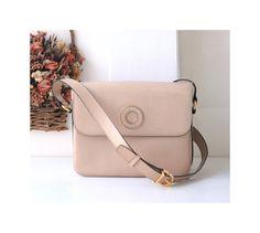 Celine Bag Beige Leather shoulder crossbody authentic vintage handbag by hfvin on Etsy  #celine #beige #crossbody #authentic #hfvin