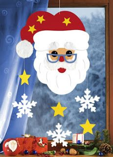 Weichnachten - Fashion and Recipes Diy And Crafts, Crafts For Kids, File Folder Games, Diy Art, Paper Art, Ronald Mcdonald, Christmas Crafts, Santa, Decor