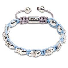 Nialaya - KRMA - Women's Skull Bead Bracelet. Browse the collection today at krma.com! #Nialaya #krma #hellokrma #spring #fashion #springfashion #springseason #2013 #new #trend #trendsetter #fashionista #musthave #loveit #love #needit #jewelry #jotd #potd #designer #gold #diamond #diamonds #necklace #bracelet #ring #earrings #armswag #armparty #armcandy #wishlist #crystal #amethyst #skull #skulls #skeleton