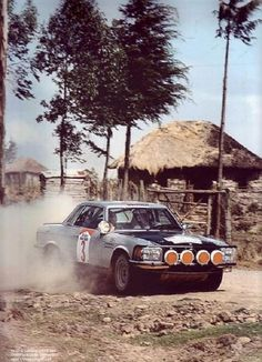 Björn Waldegärd Sport Cars, Race Cars, Mercedes 500sl, Rally Car, Car And Driver, Great Pictures, Peugeot, Monster Trucks, African Safari