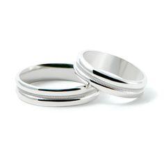 ORO BLANCO 14K ACABADO ESPEJO 5MM Wedding Bands, Wedding Day, Wedding Ring, Perfect Wedding, Bridal Jewelry, Jewerly, Wedding Planning, Engagement Rings, Ideas Para