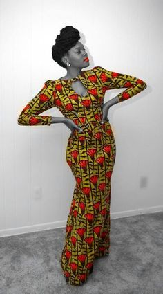AFROpolitan... ~African Prints, African women dresses, African fashion styles, african clothing
