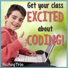 Teaching Trio: Tech Thursday {Code.org}