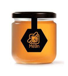 Simple and Elegant! Methi - Honey Branding & Label Design by Corn Studio , via Behance