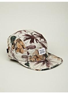 df5e4b72 Men's 5 Panel Flower Print Cap Norse Projects, Flower Prints, Cowboy Hats,  Snapback