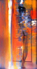 Abstract Painting - The Escape by Stefan Kuhn