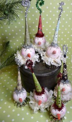 Antique Cookie Cutter Snowballs by CatandFiddlefolk on Etsy