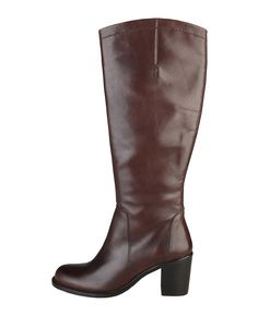 Womens shoes - women's boots 100% genuin leather, side zip fastening - insole: synthetic material - sole: rubber - h - Boot women Brown