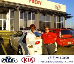 https://flic.kr/p/BMyLew | #HappyBirthday to Cloria from Megan Lowe at Fredy Kia! | deliverymaxx.com/DealerReviews.aspx?DealerCode=OLRT