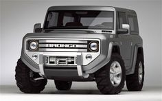 2004 Ford Bronco Concept (Just a concept)