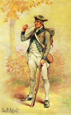 3rd New York Regiment. American Revolutionary War (V)