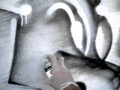 Reskew's Graffiti Tutorial #10 Shadows and 3D spraypainting techniques