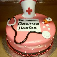 Nurse cake  https://m.facebook.com/cakesbyRica