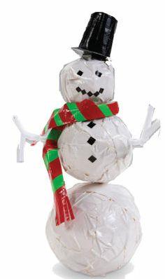 Duck Tape® Snowman