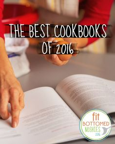 These cookbooks are so good, they won a Noshie! #FBENoshies | Fit Bottomed Eats