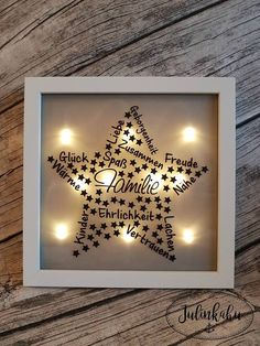 Star Family Plotter - New Diy Gifts Trend Diy Gifts For Mothers, Diy Gifts For Friends, Aunt Gifts, Easy Diy Gifts, Star Family, Gifts For Brother, Frame Crafts, The Conjuring, Flower Crafts