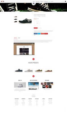 Ap Shoes Store is 100% Responsive Shopify Theme. It is designed for any e-commerce sites and diversified commodities as fashion, glasses, shoes, bags, cosmetic, furniture shop and multistore. Demo: http://apollotheme.com/demo-themes/?product=ap-shoes-store-shopify-theme Download: http://apollotheme.com/products/ap-shoes-store-shopify-theme/