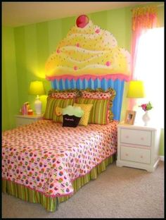 I wanna switch my daughters room from hello kitty to cupcakes, so cute!! ~MH