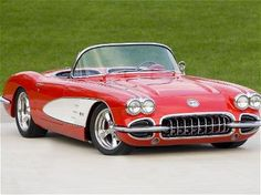 I want this Corvette!