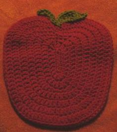 Apple Hot Pad.  Loads of other neat patterns on this site.