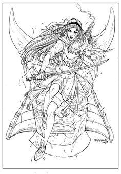 Alien vs Predator Coloring Pages | Alien Queen Drawing How ...