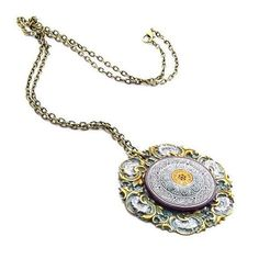 Victorian Pendant Necklace romantic Victorian by GlobalBrights