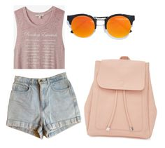 """likes"" by kristyna-r on Polyvore featuring Express, American Apparel, LULUS and New Look"
