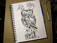 The Wonder Kingdom presents: The Owl of Life and Death illustration