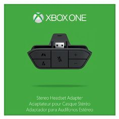 Xbox One Stereo Headset Adapter --- http://www.amazon.com/Xbox-One-Stereo-Headset-Adapter/dp/B00IAVDOS6/ref=sr_1_65/?tag=triniversalne-20